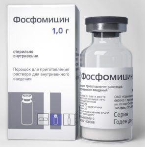 Препарат Фосфомицин
