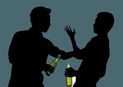 У алкоголика не остается друзей-трезвенников