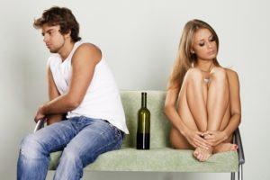 На 1 стадии из за алкоголя могут начаться проблемы и в сексуальном плане