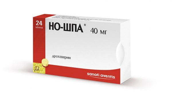 Но-Шпа используется для подавления острых болевых ощущений и рези