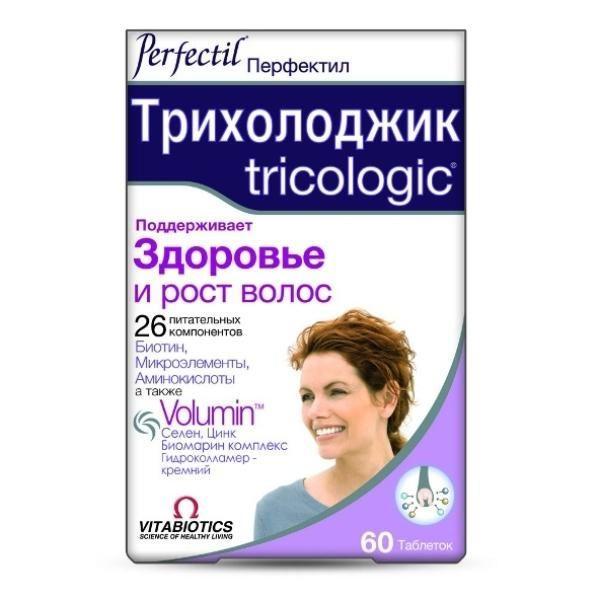 Перфектил Трихолоджик для здоровья и роста волос