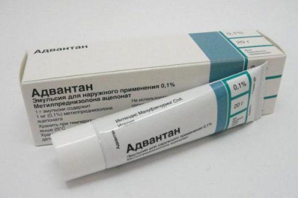 Эмульсия для наружного применения Адвантан