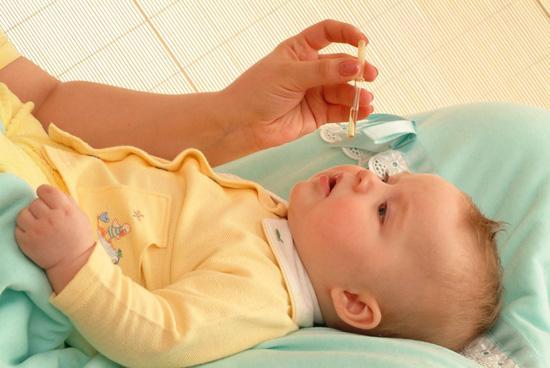 Детские капли от насморка до 1 года