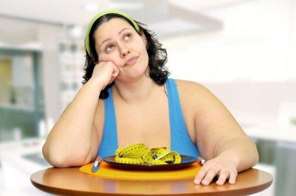 Избыточный вес - одна из самых распространенных причин