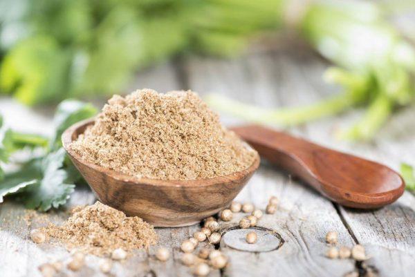 Молотый кориандр - эффективное и мощное средство от глистов