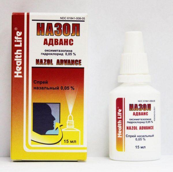 Назол Адванс снимает отечность и подавляет выработку мокроты
