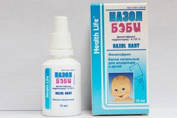 Назол Бэби применяется для подавления аллергического насморка и инфекционного