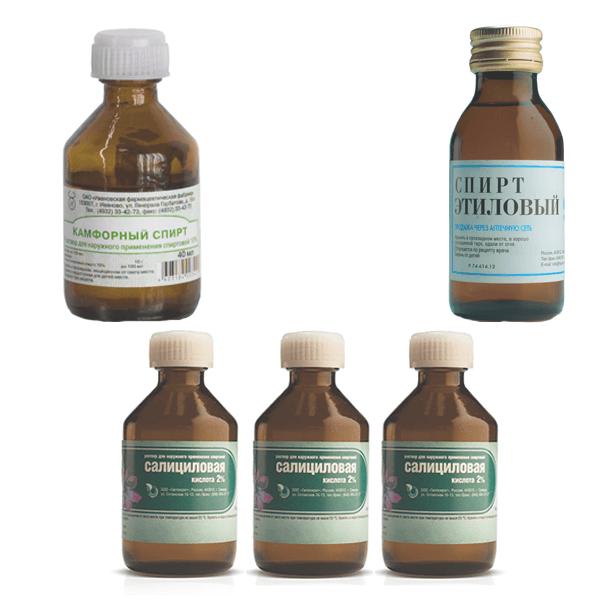 Наружные препараты для лечения буллезного импетиго