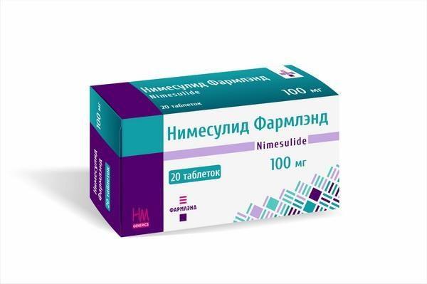 Популярное противовоспалительное средство широкого спектра действия Нимесулид