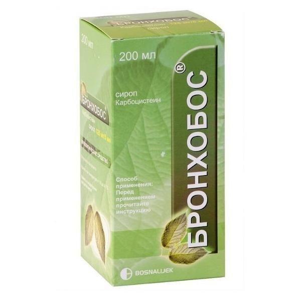 Препарат Бронхобос оказывает комплексное мокроторазжижающее и противовоспалительное воздействие