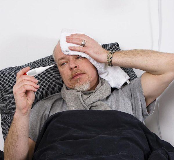 Температура при везикулите