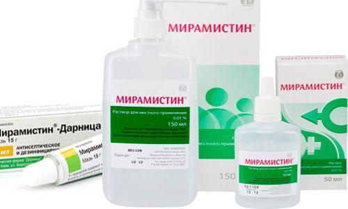 Форма выпуска препарата Мирамистин