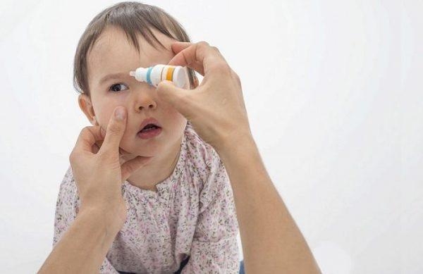 Чем лечить коньюктивит у детей
