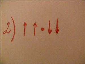 Направление пальцев вверх. И начинаются движения - одна рука пошла вниз,другая вверх. Движения выполнять одновременно обеими руками. 8-10 поглаживаний