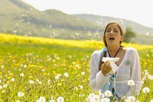 Аллергия - одна из возможных причин