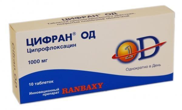 Антибактериальное средство широкого спектра действия Цифран