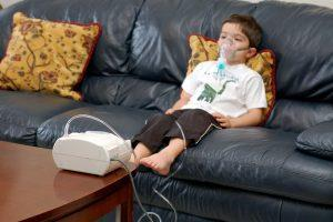 Ингаляционная терапия ребенку