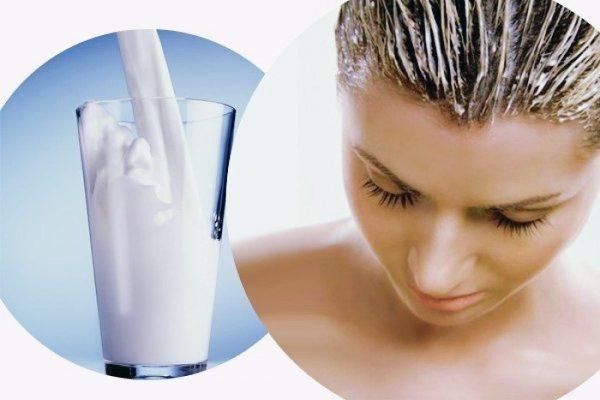 Кефир от выпадения волос