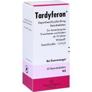 Классическое средство для лечения железодефицитной анемии Тардиферон