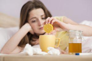 Лечение ОРЗ в домашних условиях