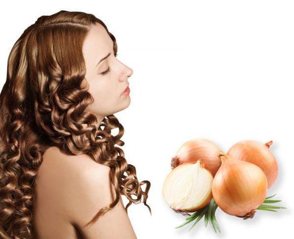Лук способен остановить выпадение волос
