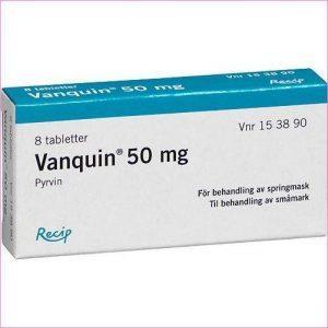 Медикамент Ванквин применяется для профилактики остриц и аскаридоза