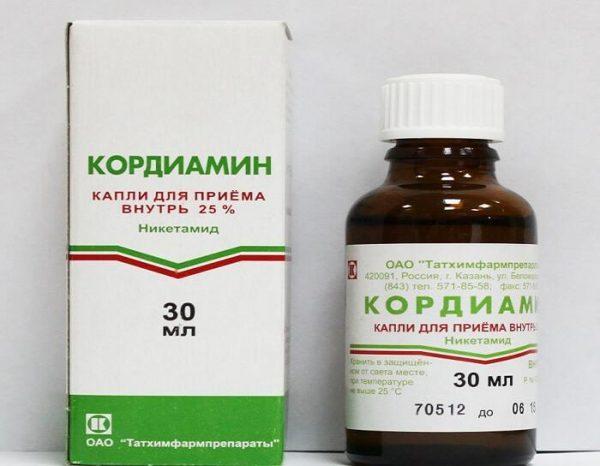 Препарат Кордиамин в форме капель