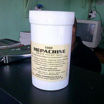 Препарат Мепакрин