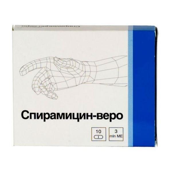 Препарат Спирамицин