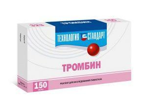 Препарат Тромбин