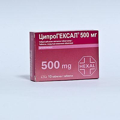 Препарат Ципрогексал