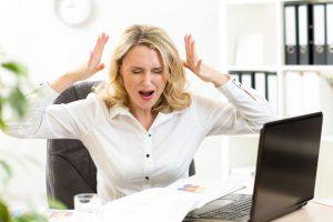 Раздражительность - один из симптомов