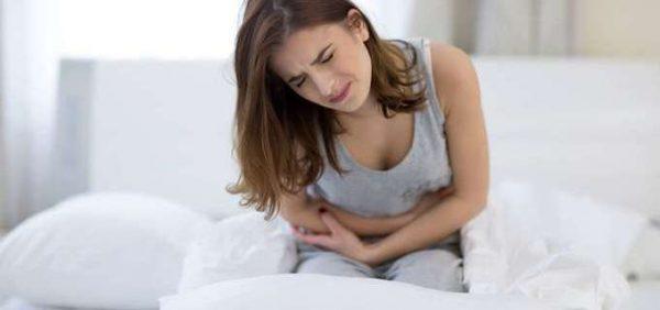 Резкая боль в животе