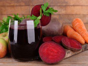 Сок моркови и свеклы обладает максимальными противовоспалительными свойствами