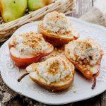 Суфле из груши с небольшим количеством меда и корицы