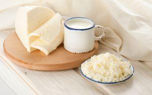 Нежирная кисломолочка (творог, сметана, сыр)