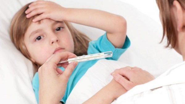 Температура при отите у ребенка