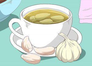 Чесночный чай