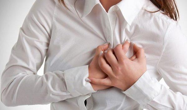 Признаки стенокардии у женщины