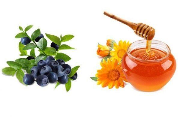 Черника и мед