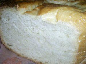 Белый хлеб на дрожжах