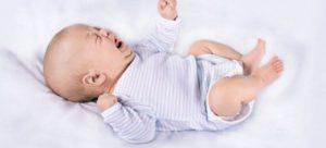 Запор у месячного ребенка - что делать?