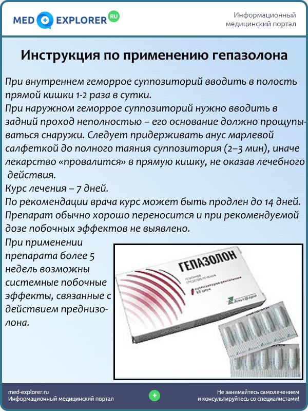 Инструкция по применению гепазолона