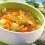 Легкий суп из овощей