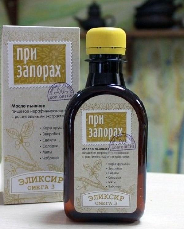 Льняное масло - лучшее натуральное средство при запорах