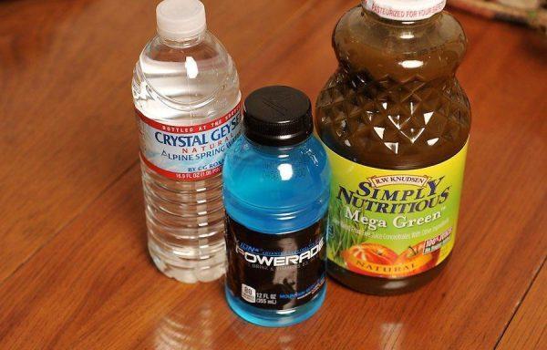 Не забывайте о восполнении потери жидкости