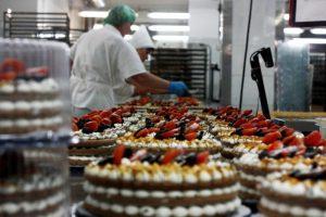 Пирожные и торты промышленного производства