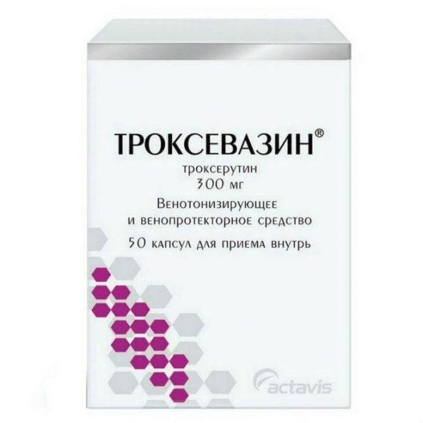 Препарат Троксевазин в форме капсул
