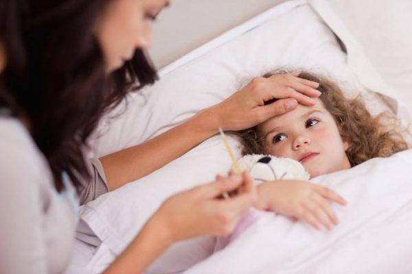 Рвота при температуре у ребенка
