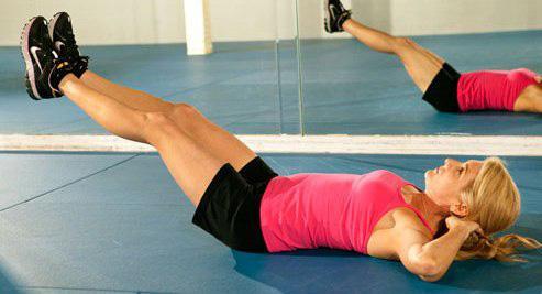 Упражнение для устранения отрыжки